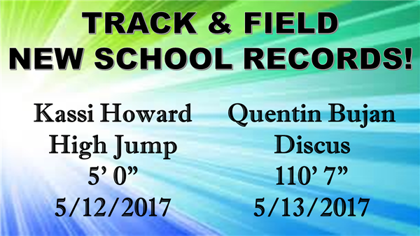 Track and Field School Records